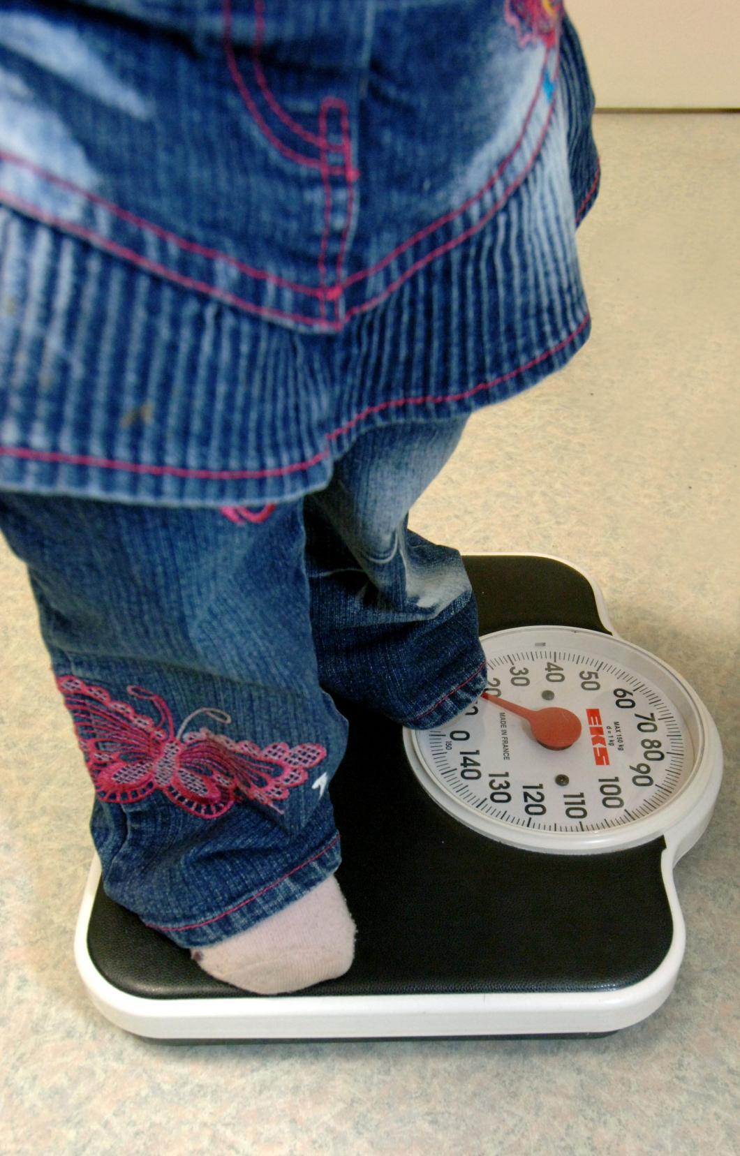 Kraftig minskning av övervikt bland förskolebarn