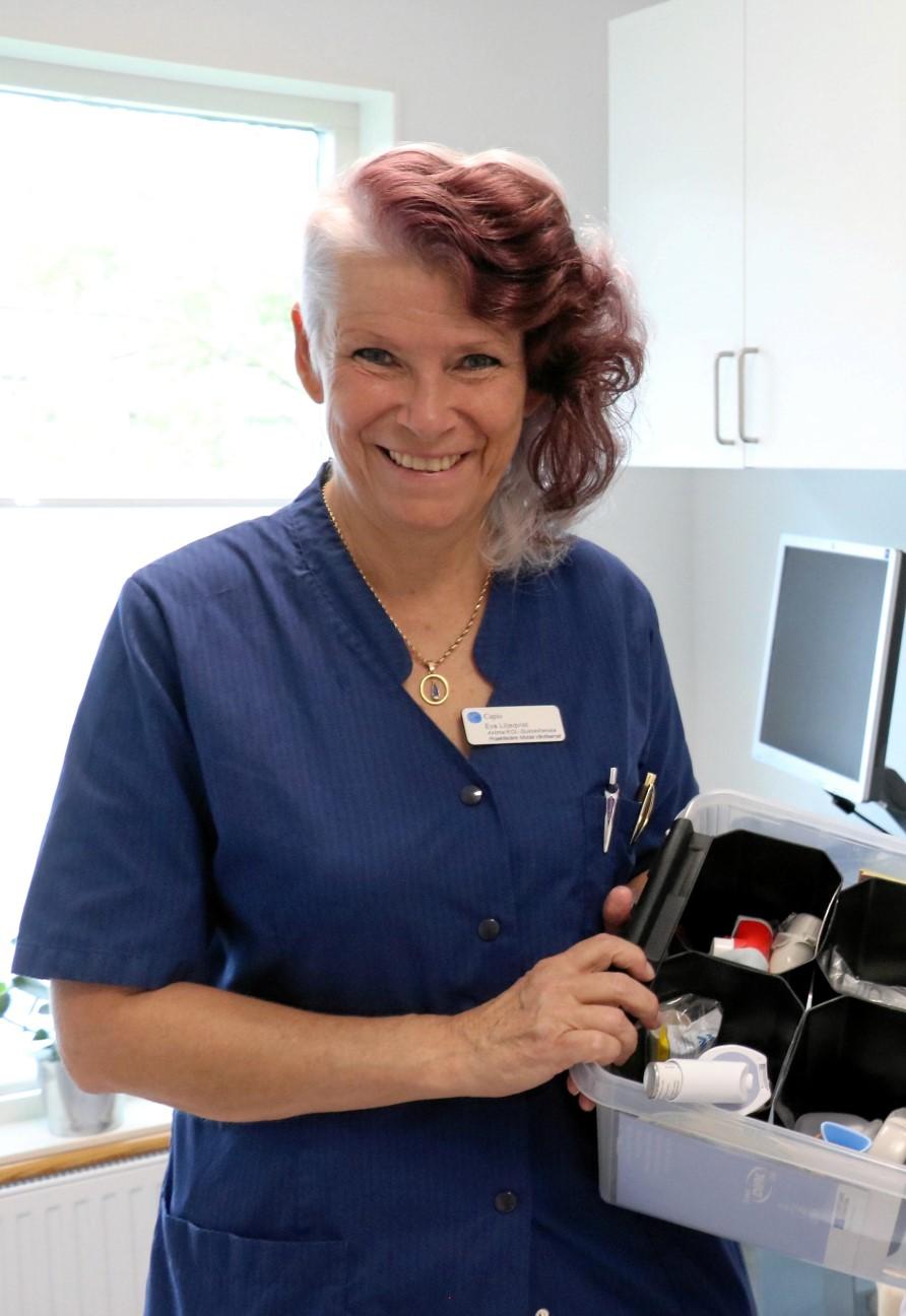 Hon förbättrar vården för patienter med kol