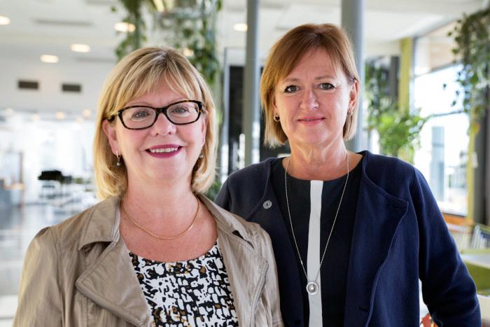 Två barnmorskor utsedda till professorer i Skövde
