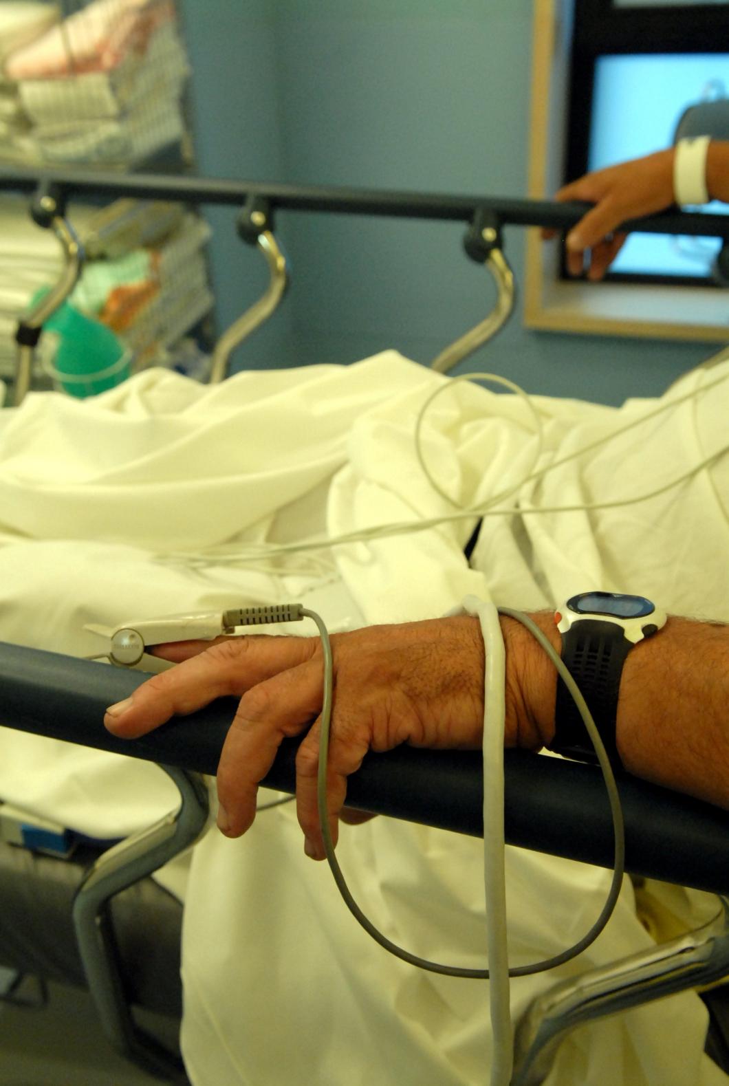 Universitetssjukhuset i Lund mörkade problem med överbeläggningar