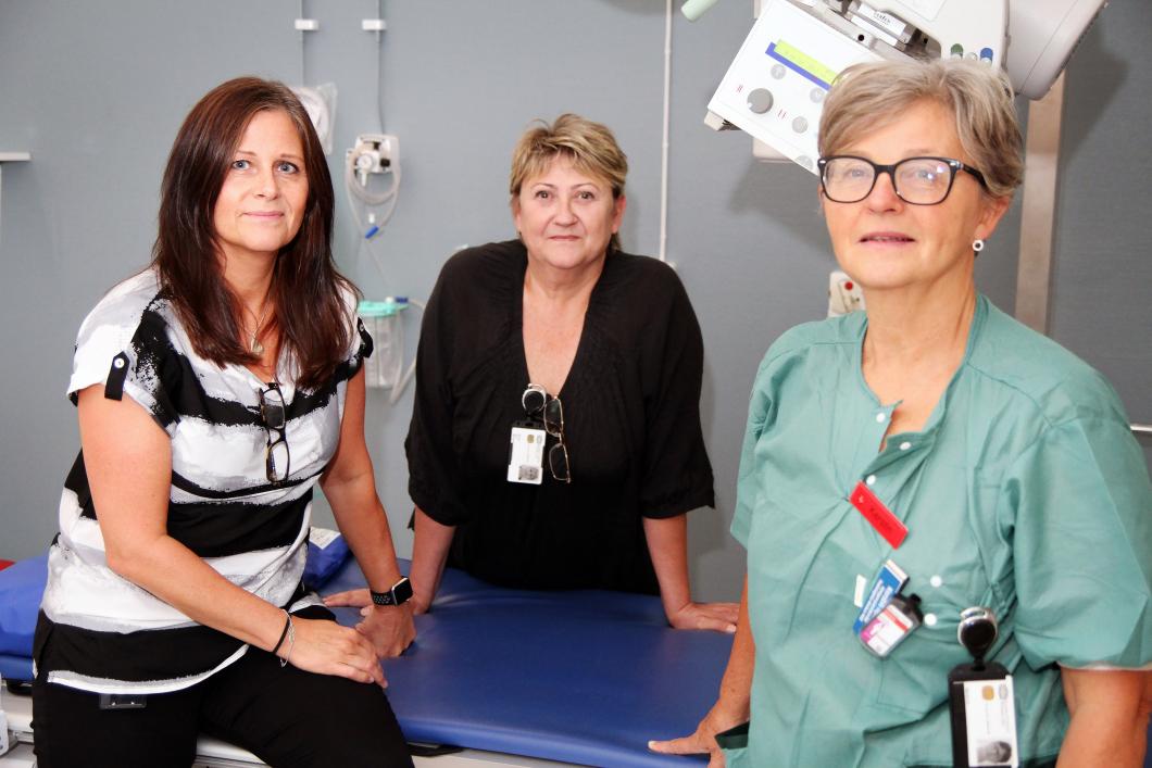 Snart fulltaliga på röntgen i Eskilstuna