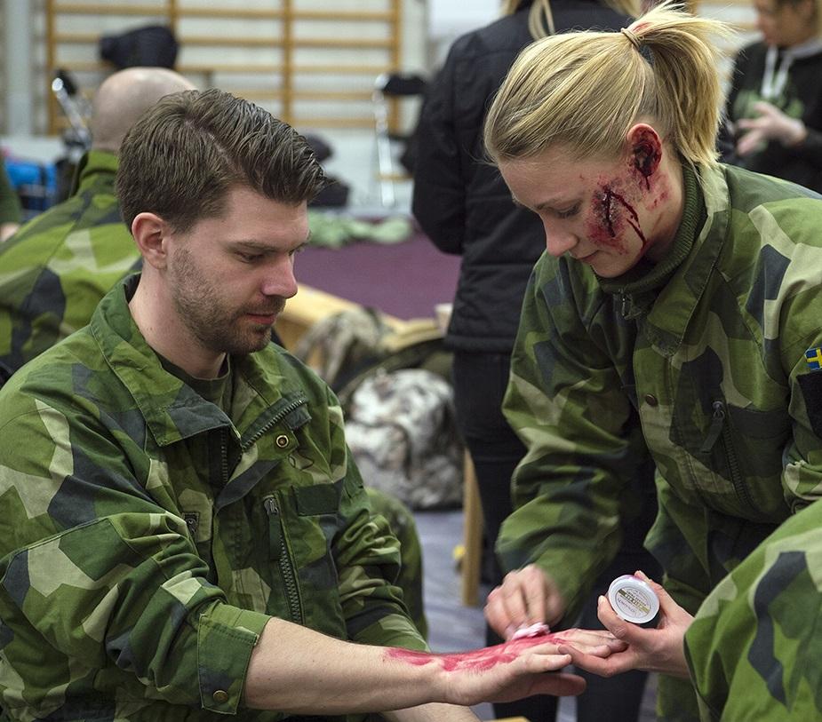 Göteborg tränade vård i terrorkaos