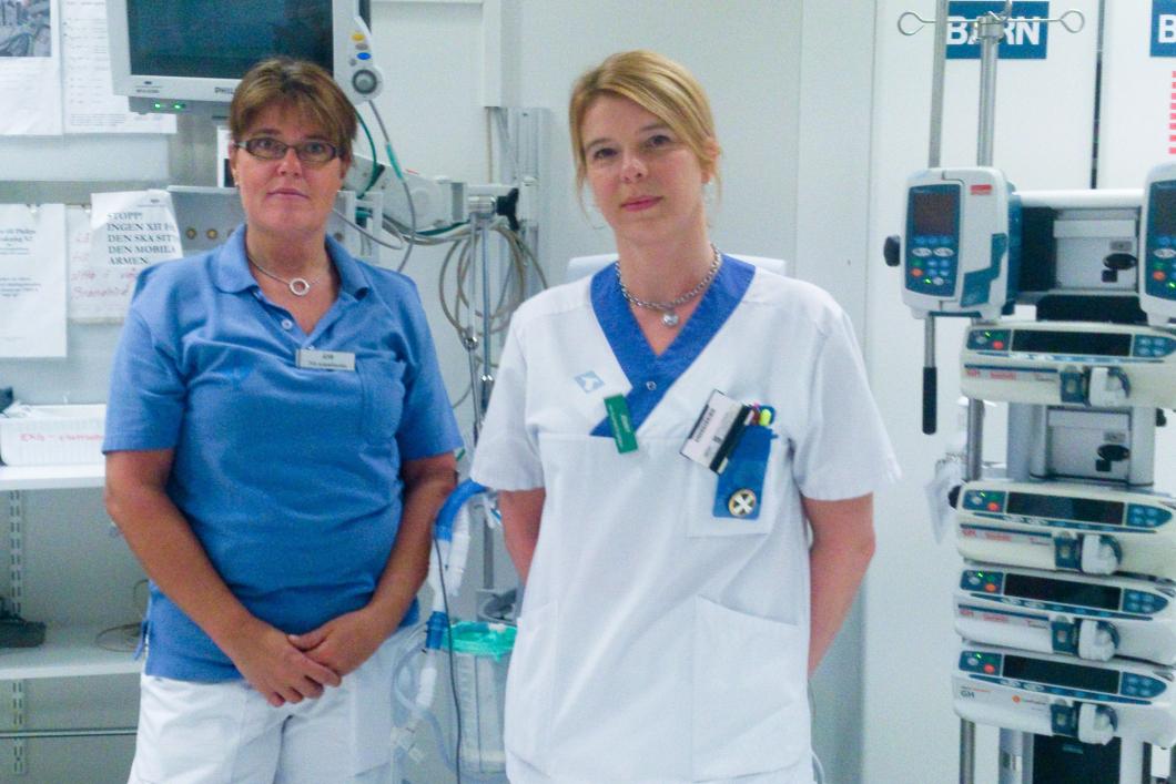 Iva-sjuksköterskor vädjar till politikerna om högre lön
