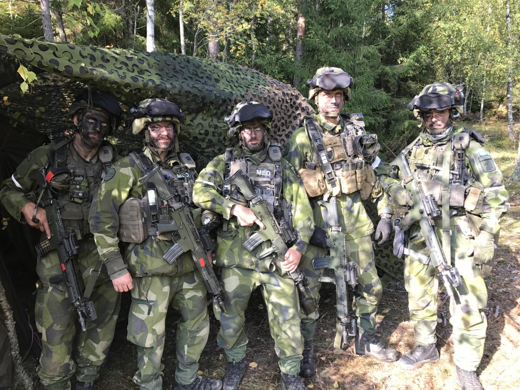 De är spjutspetsar inom den militära sjukvården