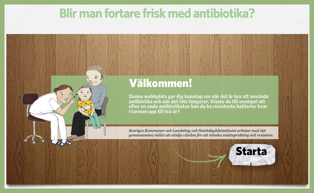 Minskat bruk av antibiotika mål med ny kampanj