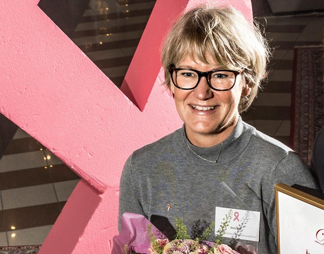 Årets bröstsjuksköterska prisas för sin förmåga att lyssna