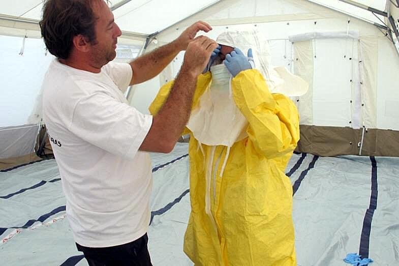 Misstänkt ebolafall i Sverige var inte smittad