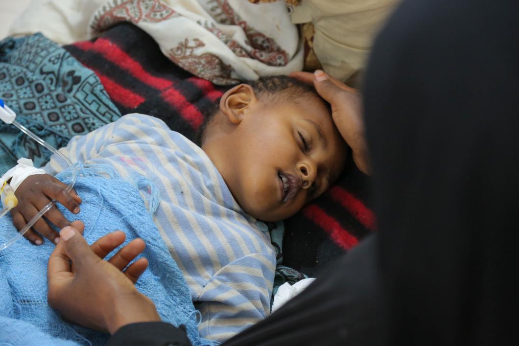 Värsta kolerautbrottet i världen