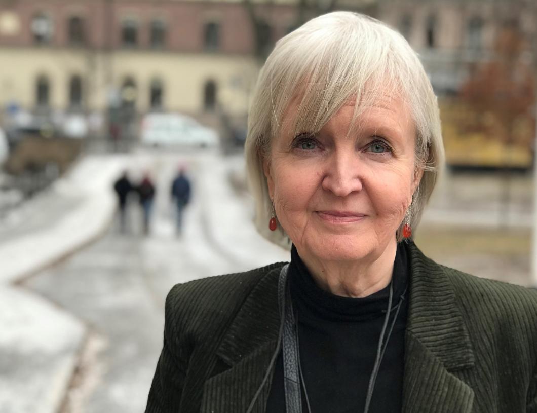 Hon får Finlands makthavare att lyssna