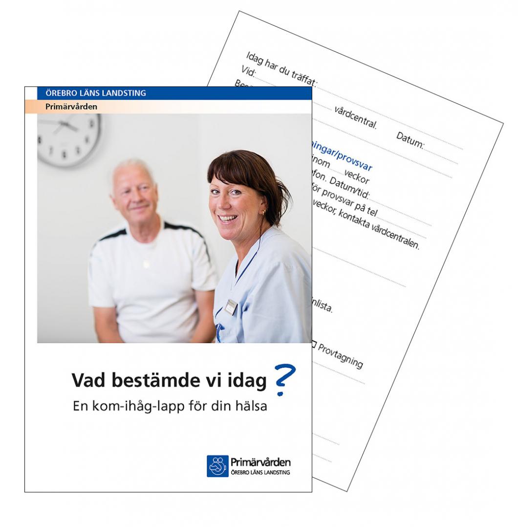 Informationskort ger trygga patienter