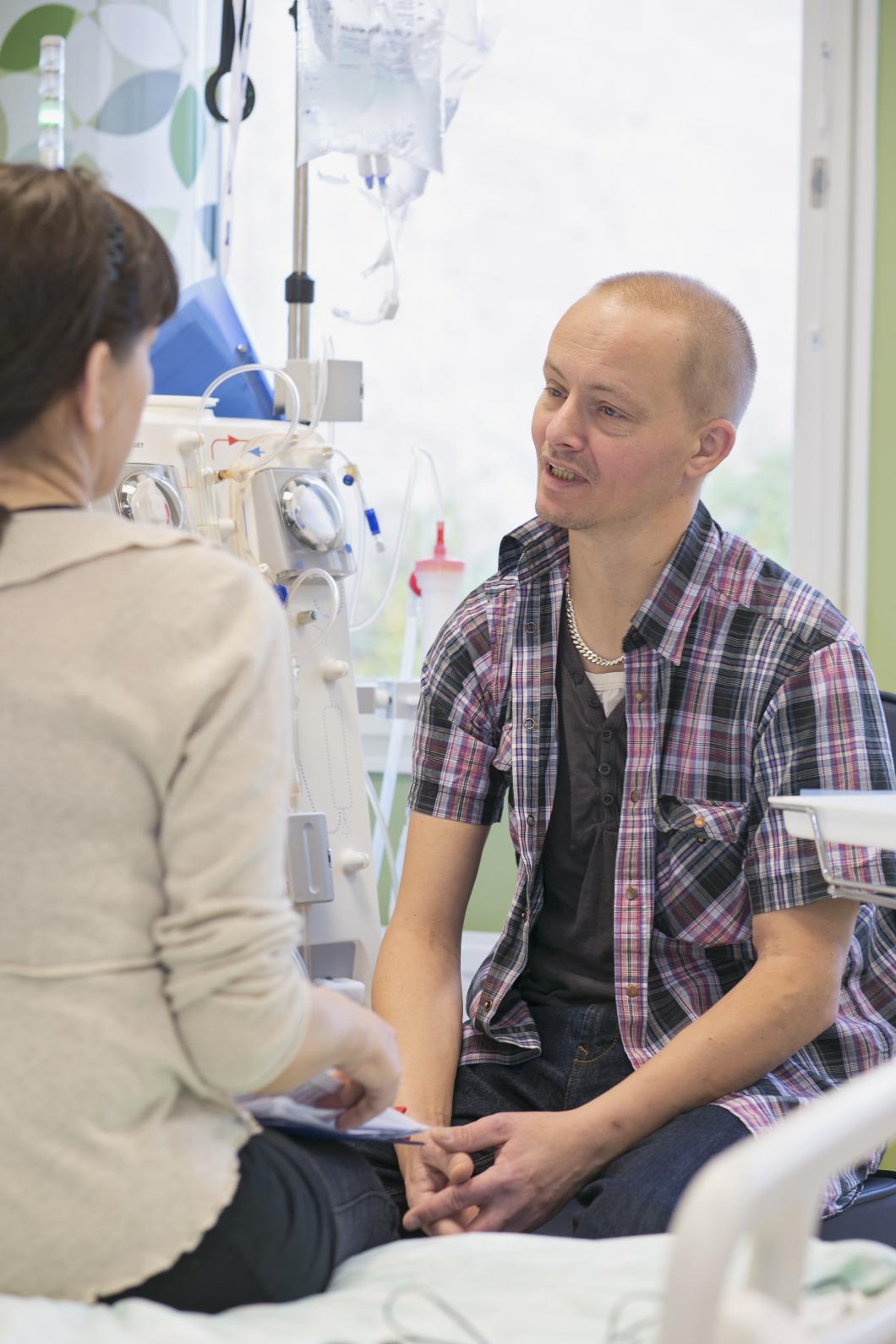 Ryhov har fått sin första patientstödjare
