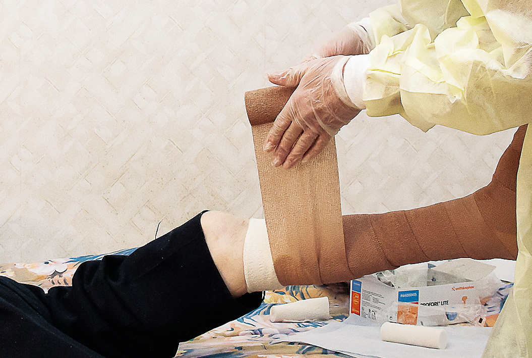 Läkta sår ger livet tillbaka