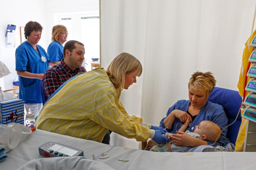 Ständigt för få intensivvårdsplatser för barn