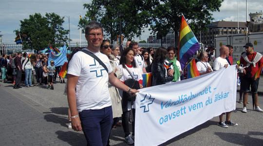 Vårdförbundet sticker hål på fördomar under årets West Pride i Göteborg