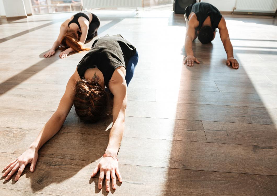 Intagna mår bra av yoga