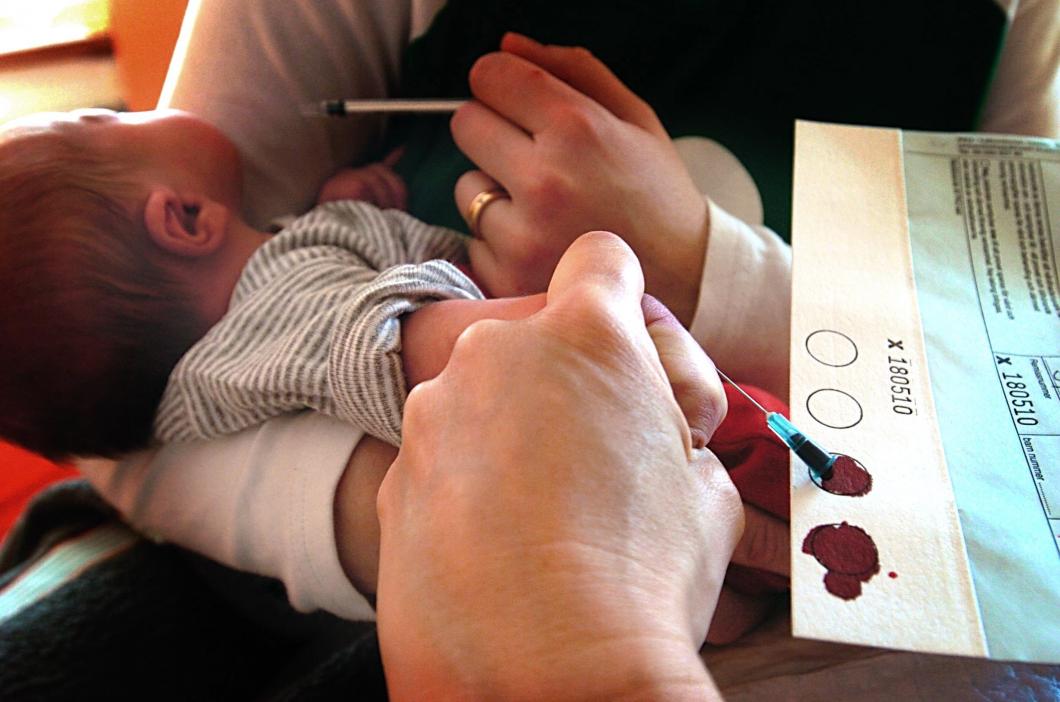 Labbet förväxlade blodprover från nyfödda