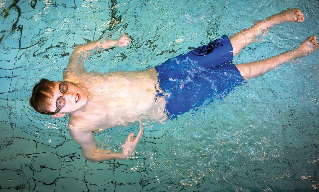 Olle kan simma lugnt