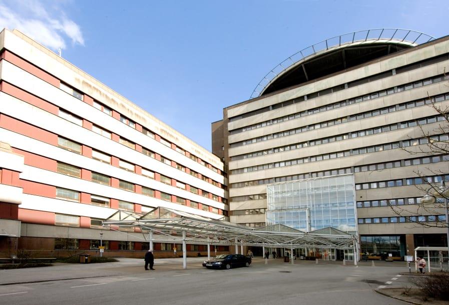 Stora delar av sjukhuset i Lund strömlöst