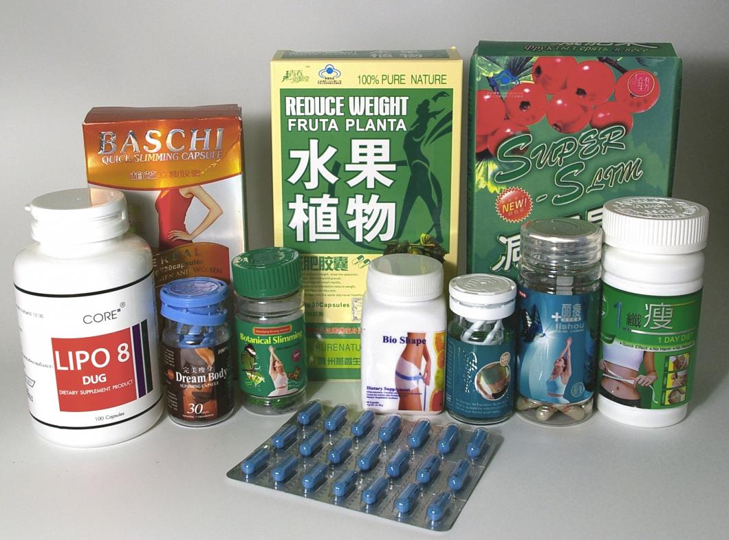 Importerade bantningspreparat innehåller ofta läkemedel