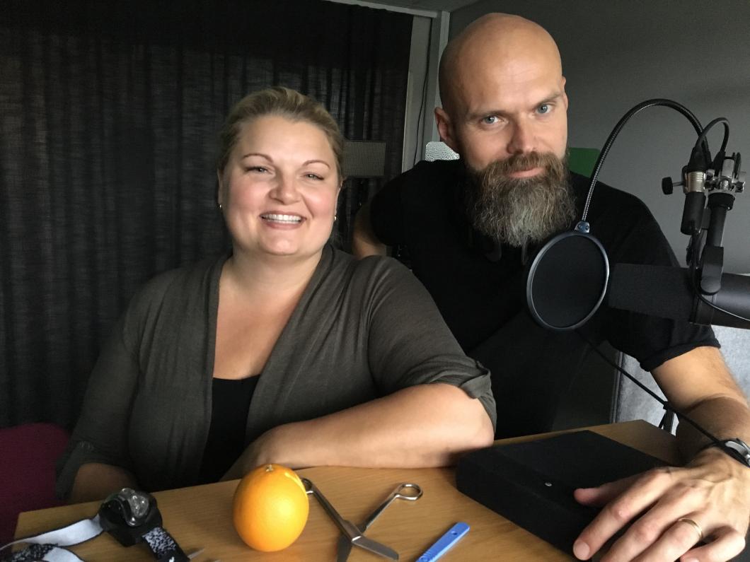 Sårsjuksköterska lanserar Sveriges första sårpodd