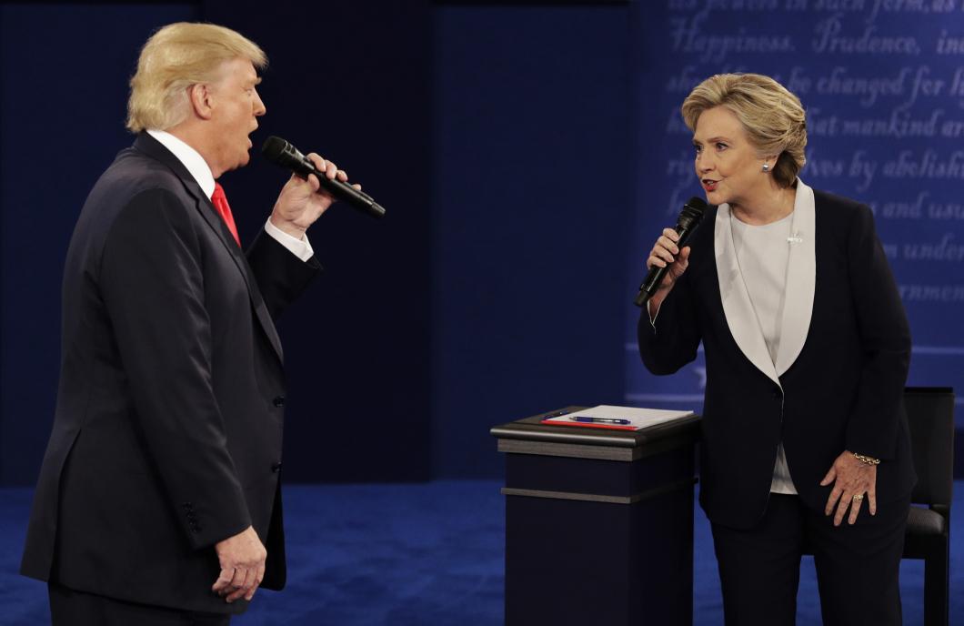 Amerikanska sjuksköterskor tar ställning i presidentvalet