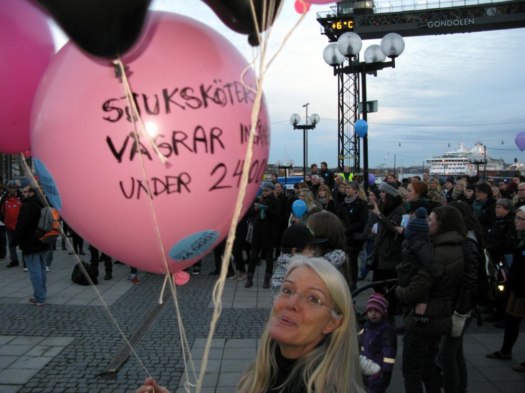 Studenterna i Stockholm och Uppsala kräver 25 000 i ingångslön