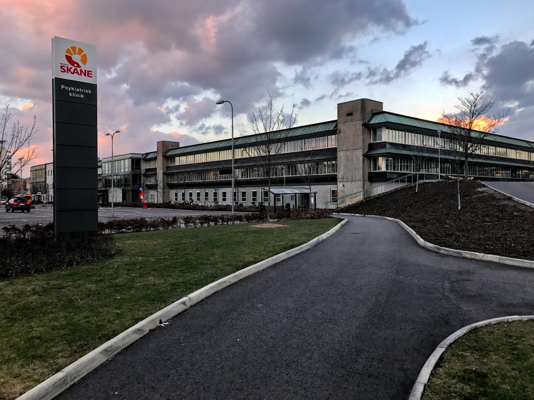 Personalen sjuk av miljön på psykiatrihuset i Lund