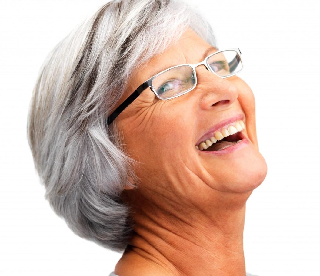 Underskatta inte allvaret i skrattet
