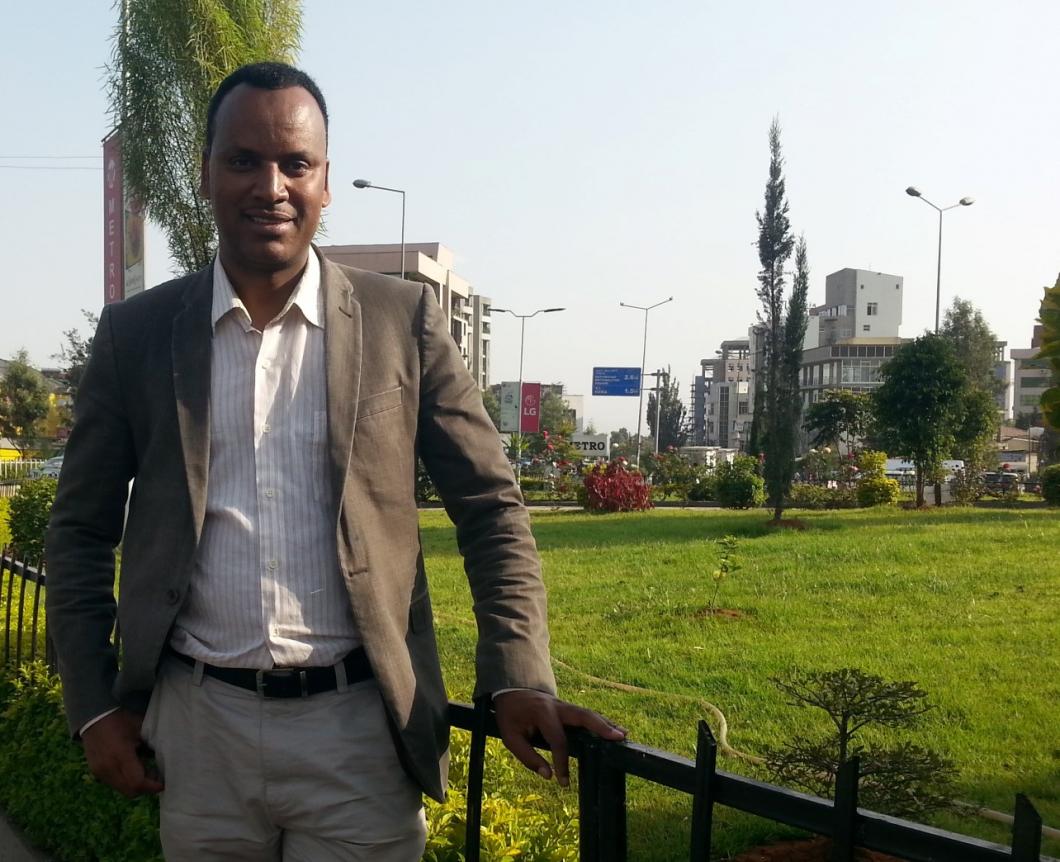 Han vill ge barn med hiv i Etiopien ett bättre liv