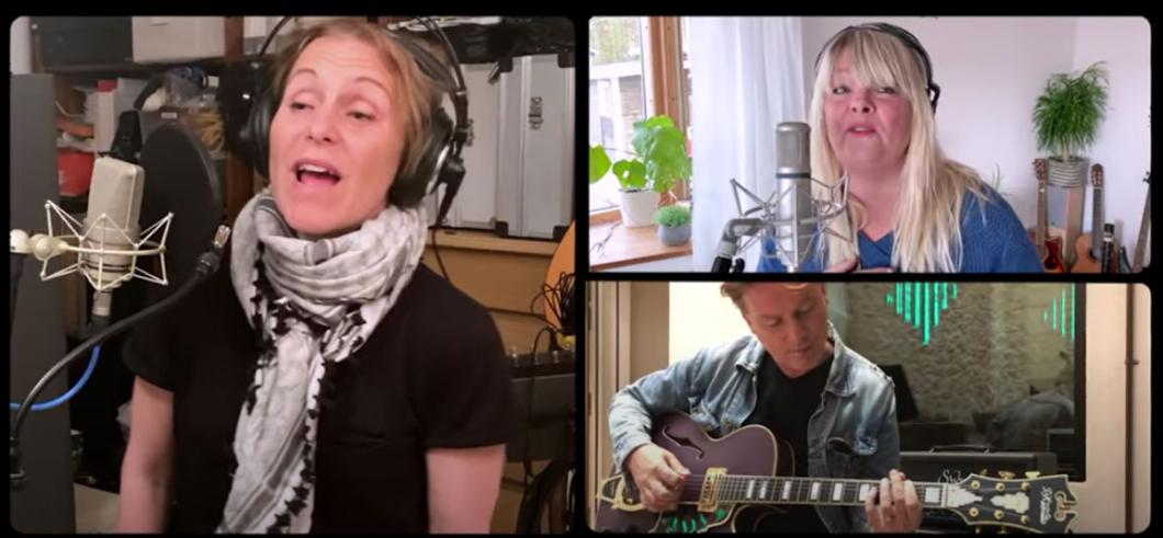 Musiker stöttar i kampen mot coronaviruset