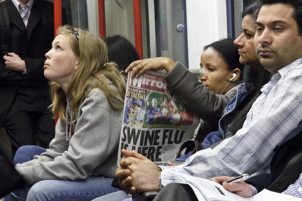 Begränsning av sociala kontakter vid pandemier ineffektivt