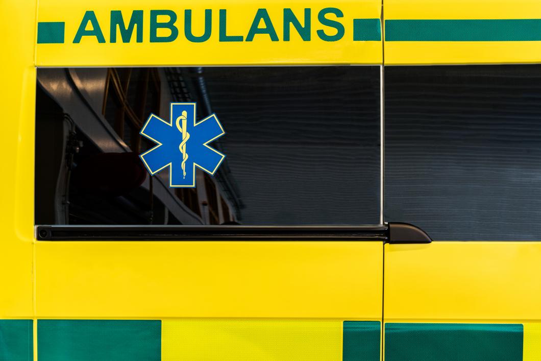 Här står ambulanser stilla i sommar