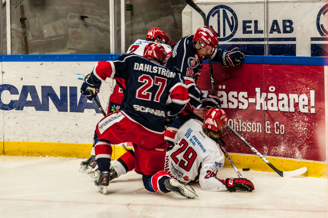 Blodprovhjälper hockeyspelare efter hjärnskakning