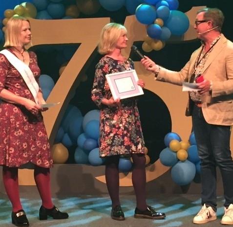 Åsa blev årets skolsköterska