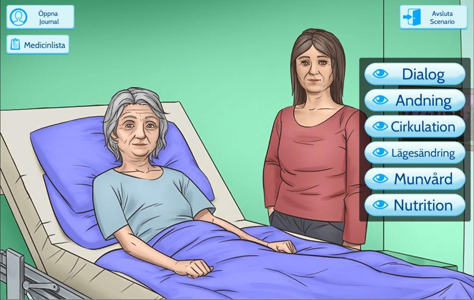 Dataspel ska lära studenter vårda döende patienter