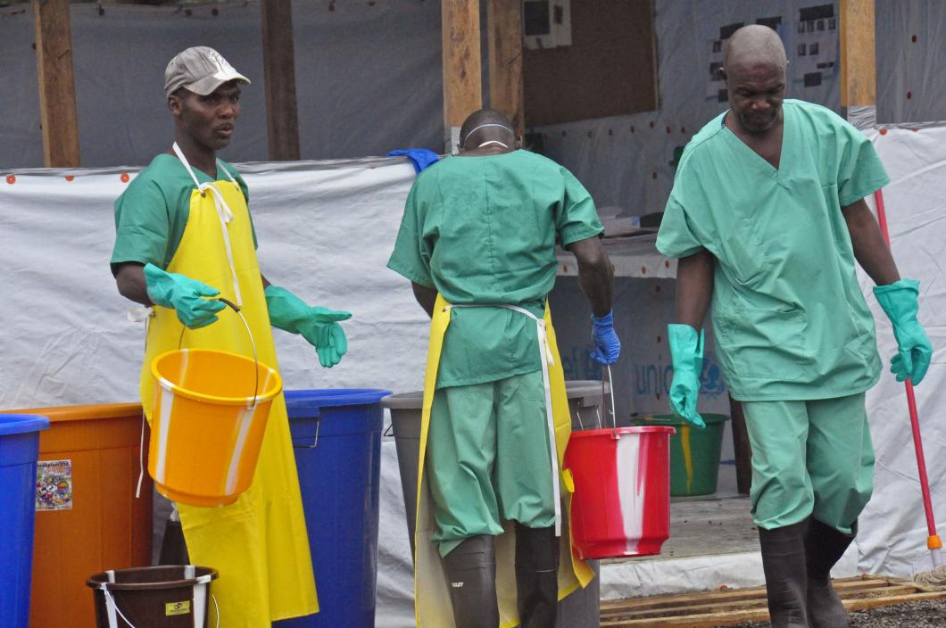 Västafrika fritt från ebola