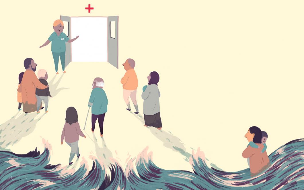 Nya utmaningar för flyktingvården