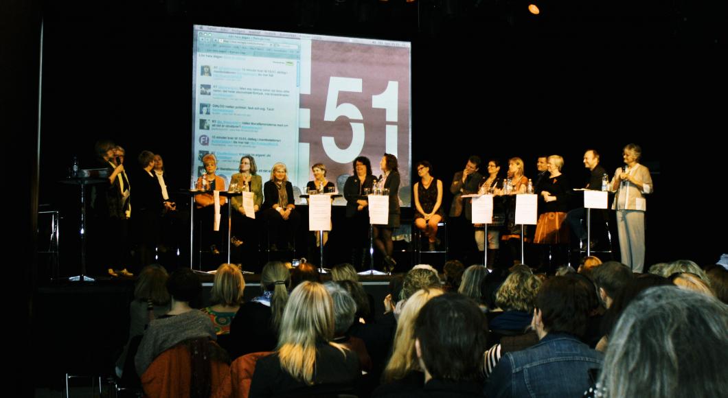 18 organisationer krävde högre kvinnolöner