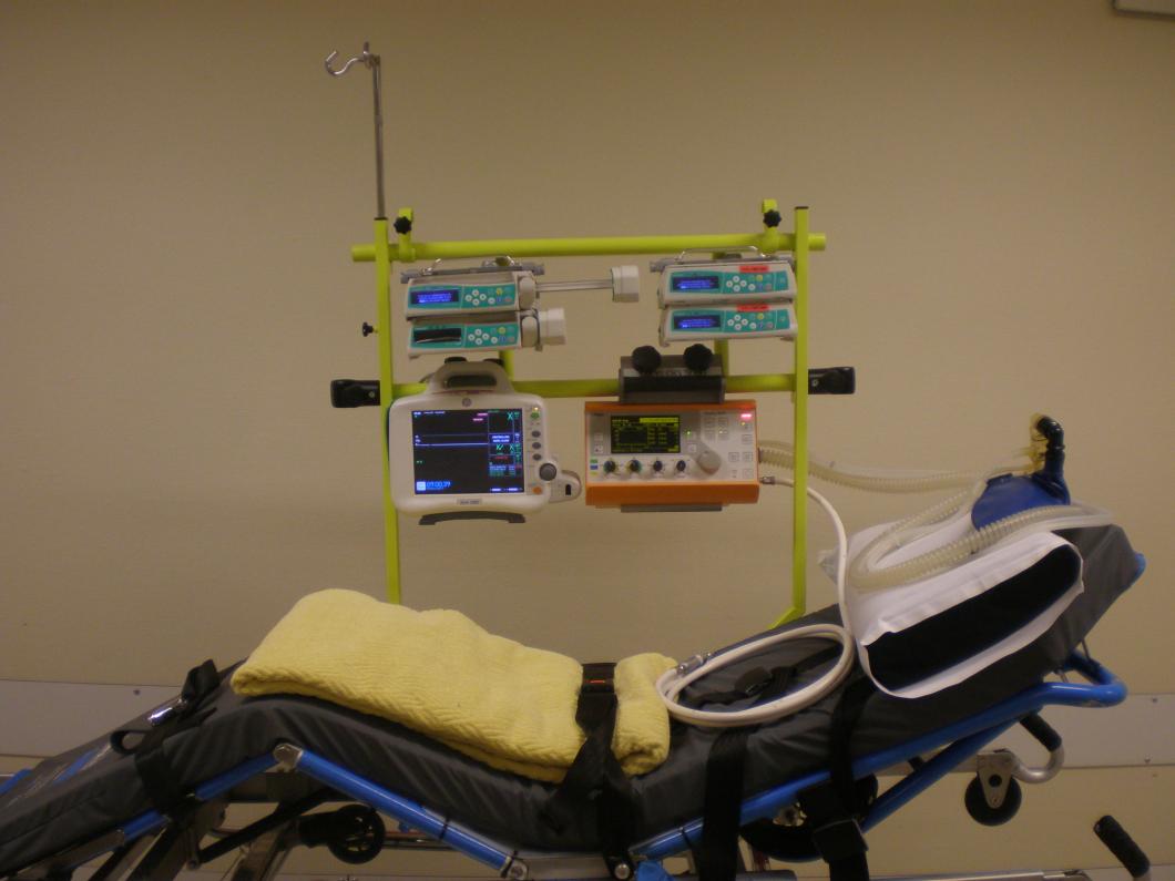 Sjuksköterskornas uppfinning har gjort ambulanstransporten mer patientsäker