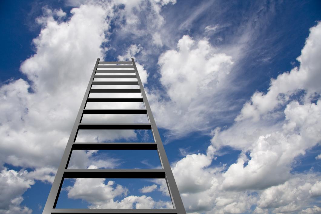 Toppen på stegen innebär inget självklart lönelyft