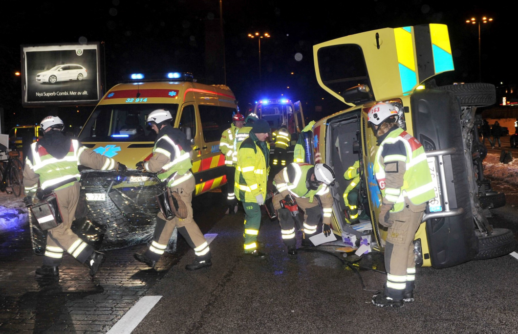 Dålig kunskap om ambulansolyckor