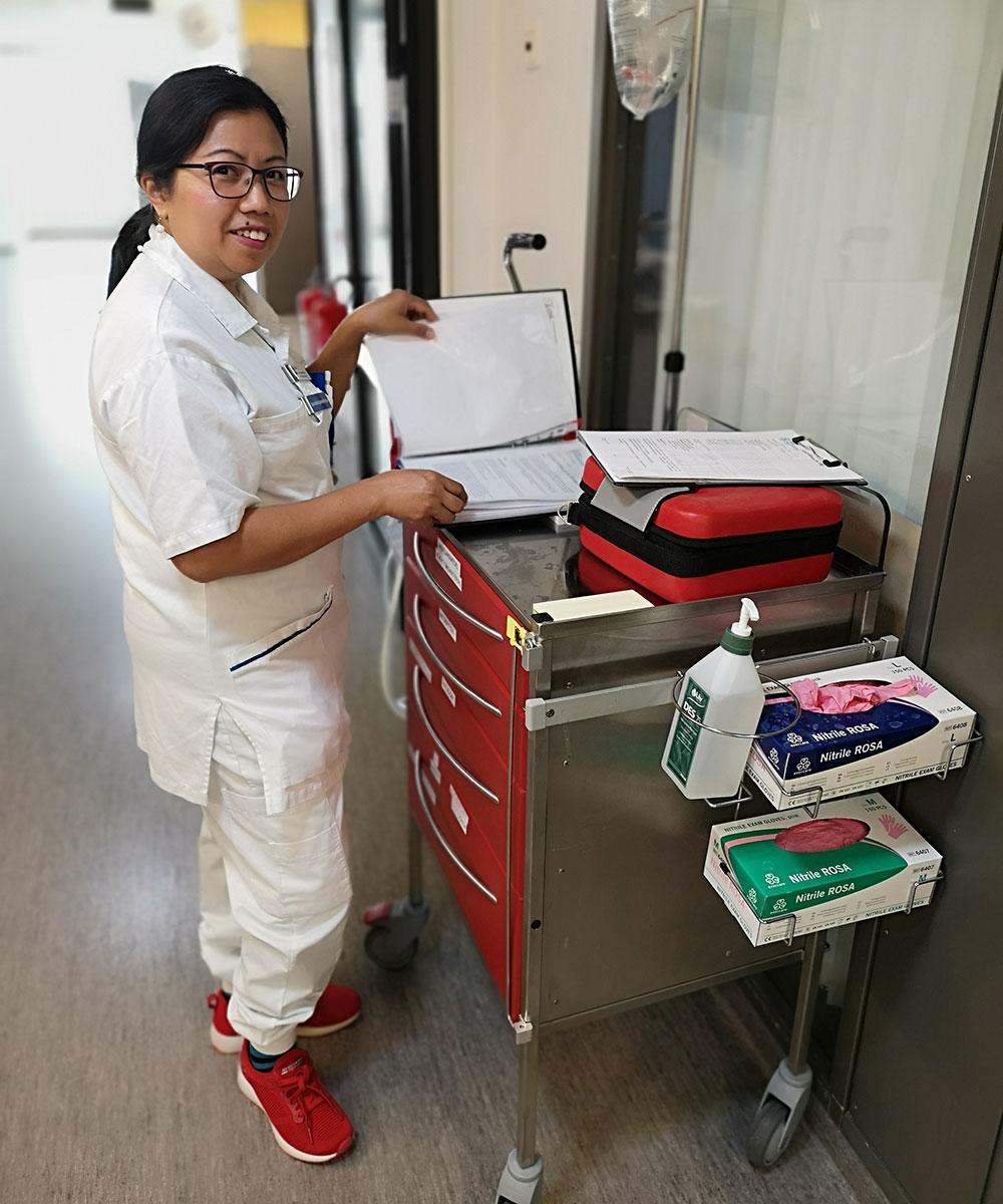 Sjuksköterskor i ledningen ökar engagemanget