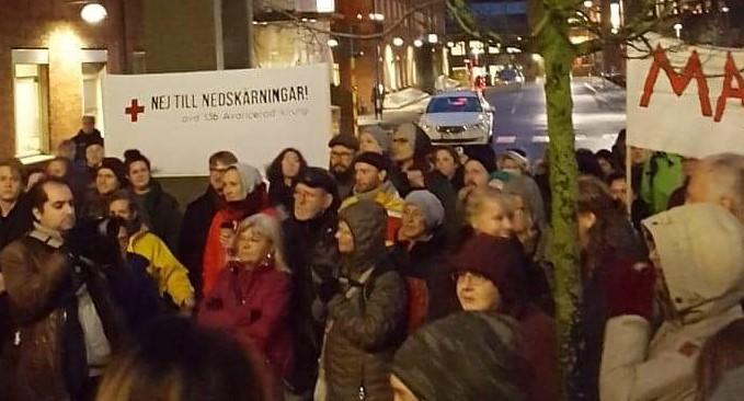 De protesterar mot tystnadskultur på SU