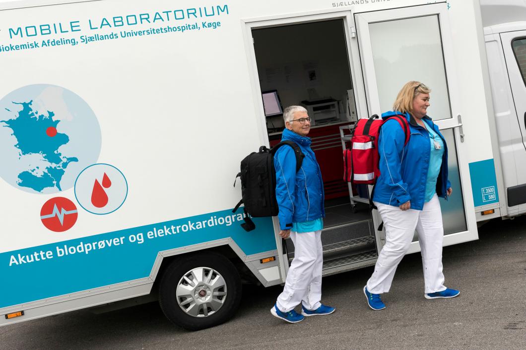 Detrivs med arbeteti världens första mobila laboratorium