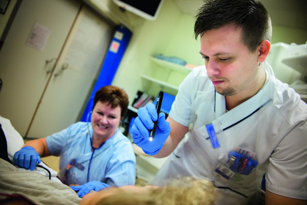 Här utbildas de allra främsta akutsjuksköterskorna