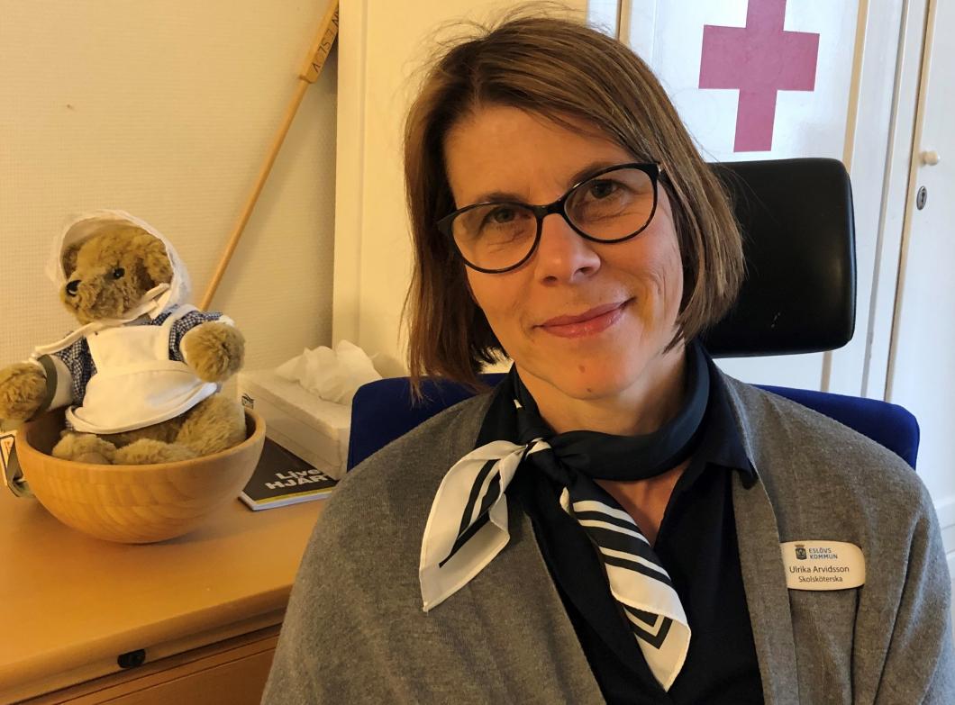 Årets skolsköterska möter elevernas oro