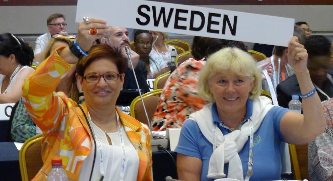 Sverige får starkare röst i ICN