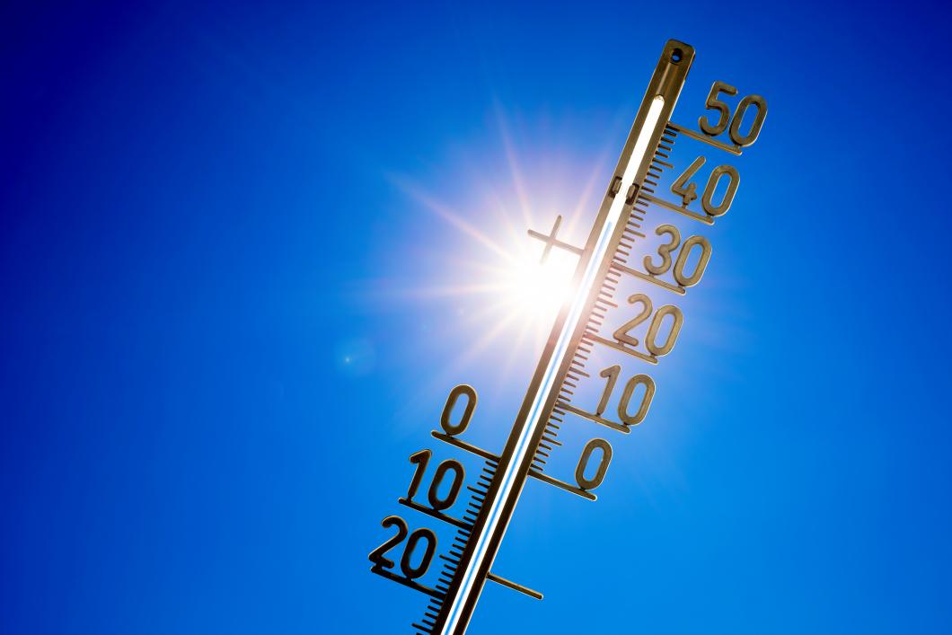Värmen kännbar i vården
