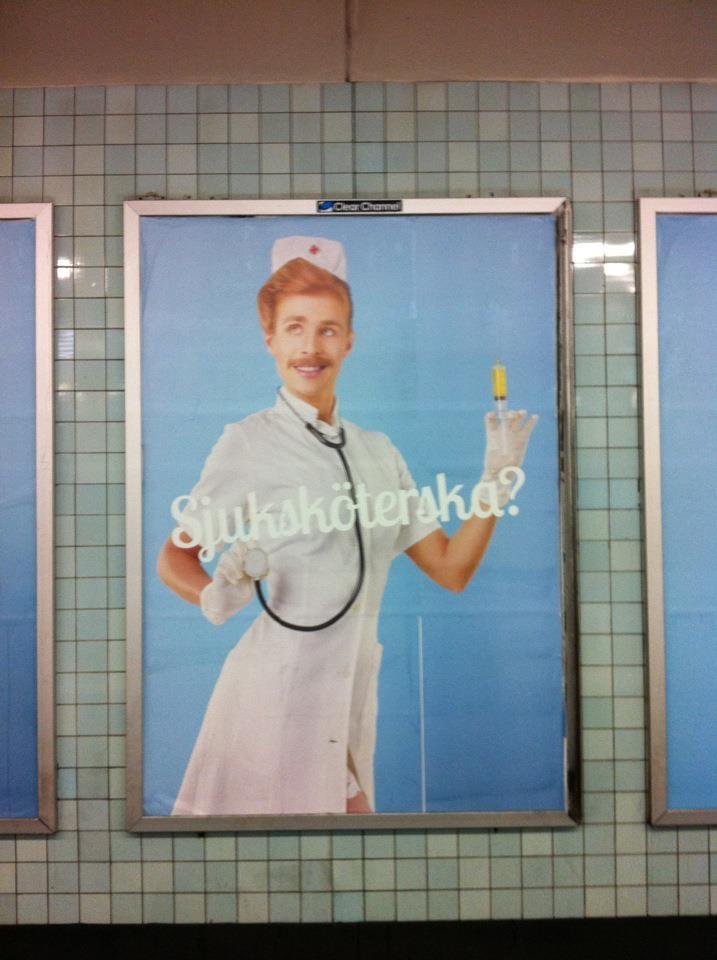 Sexistisk bild av sjuksköterska fälld av Reklamombudsmannen