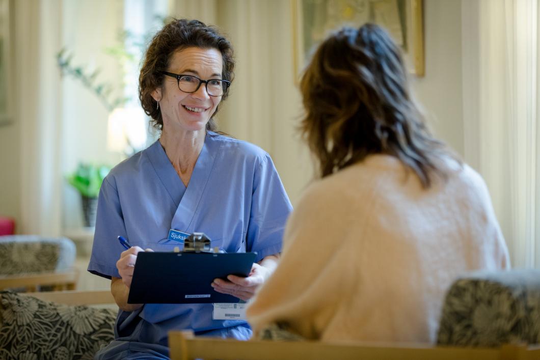Självvald inläggning stärker sjuksköterskans roll